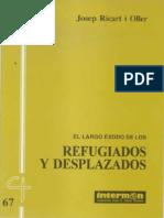 CJ 67, El Largo Exodo de Los Refugiados y Desplazados - Josep Ricart i Oller