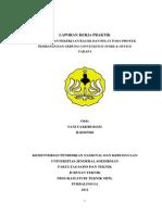 Laporan Kerja Praktik Teknik Sipil - UNSOED
