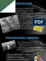 PRESENTACIÓN TOXICOLOGÍA LABORAL