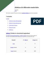 Constantes Elásticas de Diferentes Materiales (2)