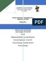 Informe Práctica Topográfica Nº 2