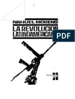 Nahuel Moreno - La Revolución Latinoamericana (1962)