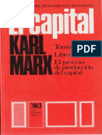 El Capital Tomo I Vol 3 Karl Marx