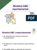Modelul+ABC+comportamental