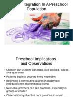 sensory integration in preschool ppt