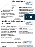 Auditoria Independente - Bloco 04 Ao 05