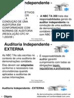 Auditoria Independente - Bloco 04 Ao 05