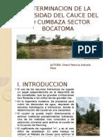 determinacion de la rugosidad del cauce - hidraulica de rios - sheril arevalo pezo.pptx