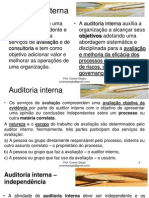 Auditoria Interna - Bloco 03