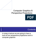 Graphics8-PerspectiveProjections