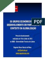 Grupos Economicos Provas Doutoramento