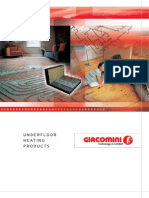 Giacomini UFH Brochure June 10