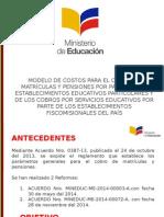 Modelo de Costos - Regimen Costa 2015 - 2016 v 1.0