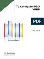 How to Configure IPSO VRRP