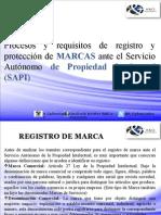 Registro y protección de MARCAS ante el Servicio Autónomo de Propiedad Intelectual (SAPI) en Venezuela