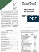 745i4 Install Manual Alarm system
