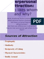 Social Psychology - Attraction