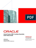 Fusion Crm Sales Exam Study Guide