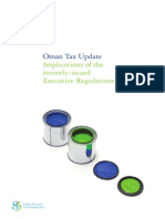 Oman Tax Update 2012 - En