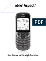 T-Mobile Aspect User Manual English - PDF - 6.56MB