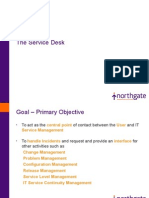 The Service Desk-ITIL v3 Presentation