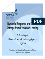 Dynamic response and tunnel damage from explosion loading.pdf