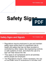 6 Safety Signs