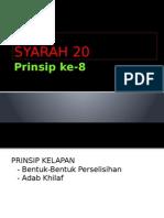 Prinsip Ke 8
