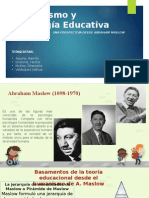 Psicologia Educativa y Humanismo