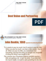 Best Value Procurement