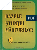 BazeleStiinteiMarfurilor-BazeleMerceologiei-Calitologiemerceologia