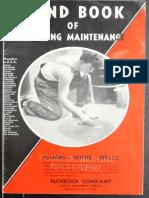 Handbook building maintenance