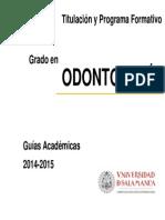 Odontología Salamanca USAL