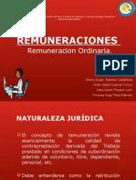 Expo de Remuneración Ordinaría
