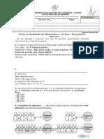 2ª Ficha de Avaliação de Matemática