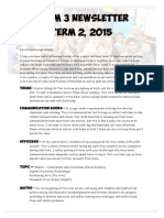 term 2 newsletter 2015 room 3