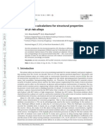 Ab-Initio Calculations for Structural Properties of Zr-Nb Alloys