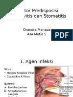Faktor Predisposisi Ginggivitis Dan Stomatitis