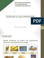 Cereais e Leguminosas
