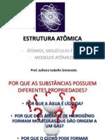 Aula 5 - Estrutura Atômica
