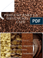 Proceso Para La Obtencion de Cafe