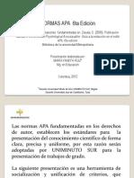 NORMAS APA 6ta EDICI on Uniminuto-libre