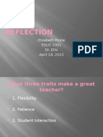 educ 2301 reflection powerpoint