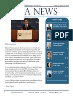 Suffolk Law SBA Newsletter 21 - 4/27/15