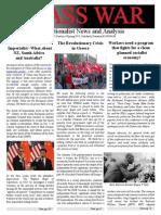 Class War Spring 2015 Vol. 2 No. 4