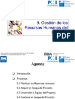 C9 Recursos Humanos PMBOK 5a Ed