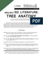 Tree Anatomy Selected Literature 14-25