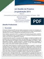 DP Gestao de Projeto Modulo a 2014