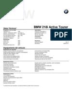 Fichas Técnicas 218i Active Tourer