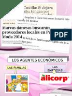 Agentes y factores del Mercado